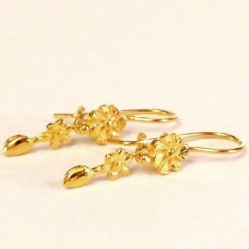 Fabula etrusca orecchini oro 18 kt