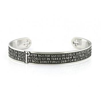 Tuum bracciale Padre Nostro argento 925