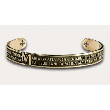 Tuam bracciale Ave Maria argento 925