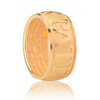 Agios anello Animus Padre Nostro