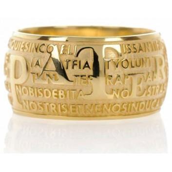 Agios anello Padre Nostro