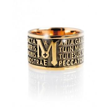 Tuam anello Ave Maria argento 925
