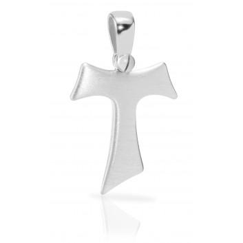 Humilis Croce Tau in argento