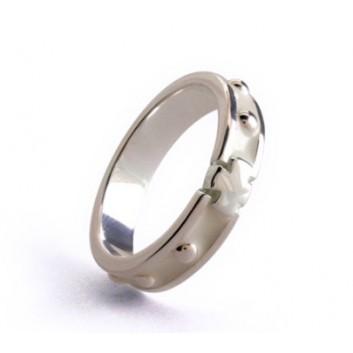 Rosarium anello rosario argento 925