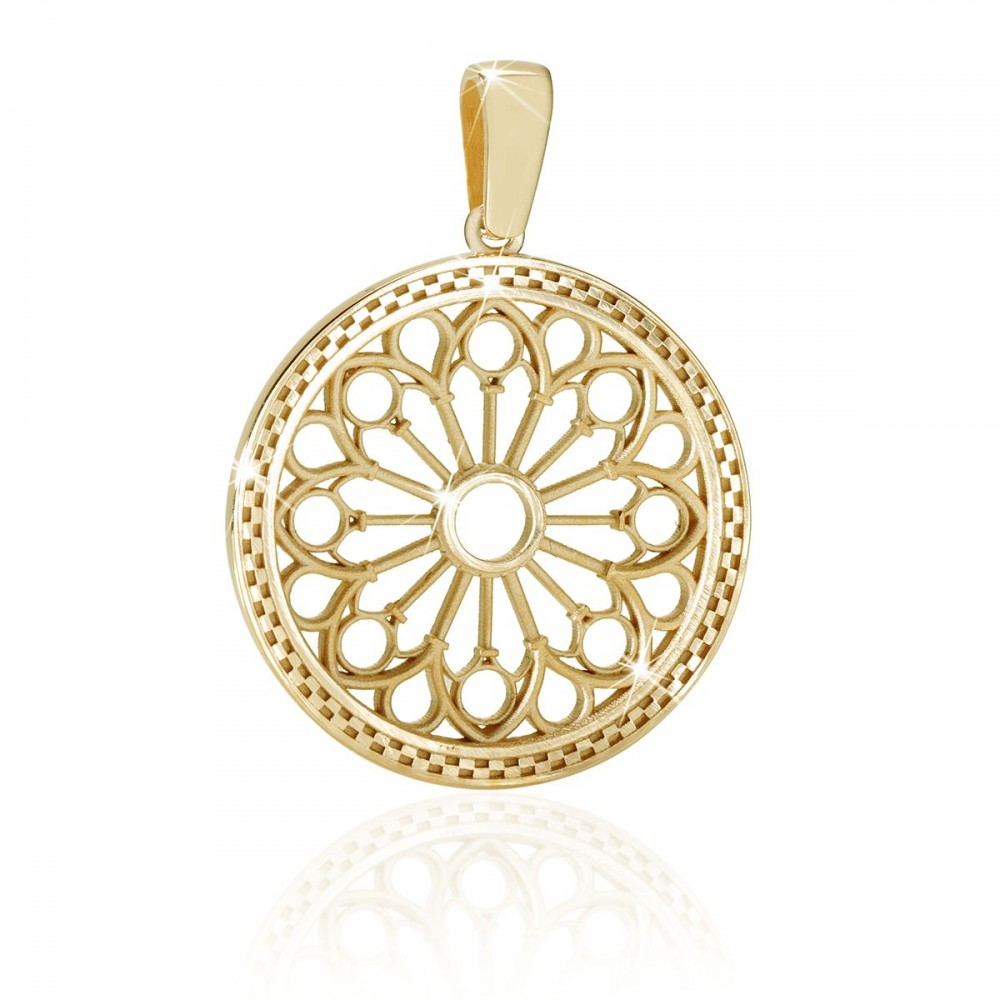 Religious jewellery - rose windows of Assisi