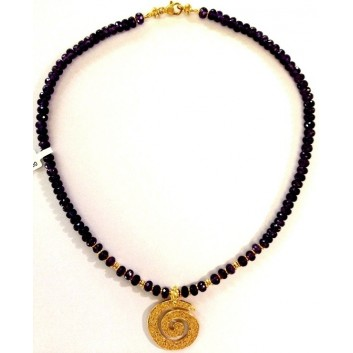 Fabula etrusca collana oro 18 kt