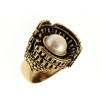 Alcozer & J. anello in ottone