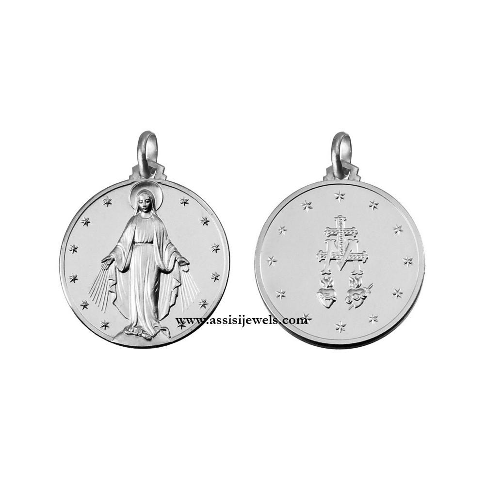 Tree of Life Disc Adjustable BRACELET 14K White Gold Clad Sterling Silver 925