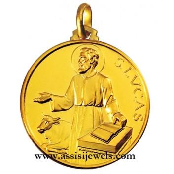 Medaglia di San Luca oro 18 kt