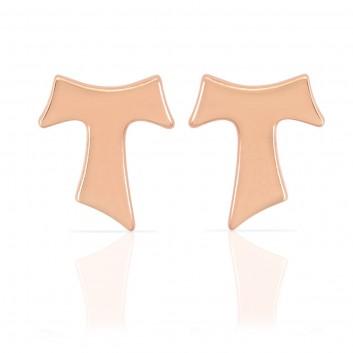 Humilis orecchini in oro rosa