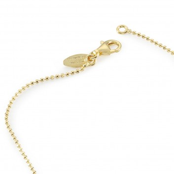 Humilis yellow gold plated sterling silver brilliant chain
