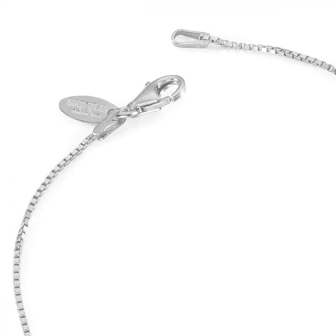 Humilis catena veneziana in argento