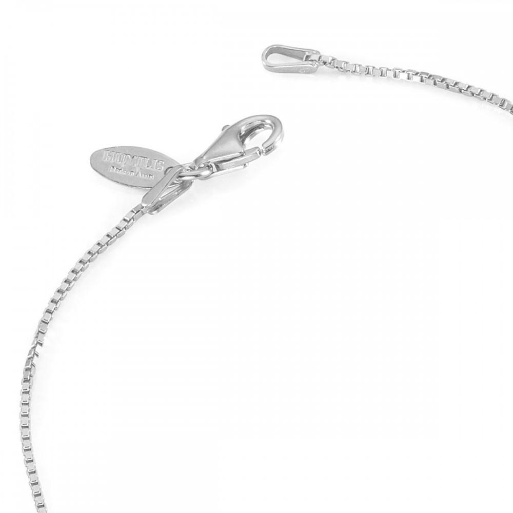 Humilis sterling silver box chain