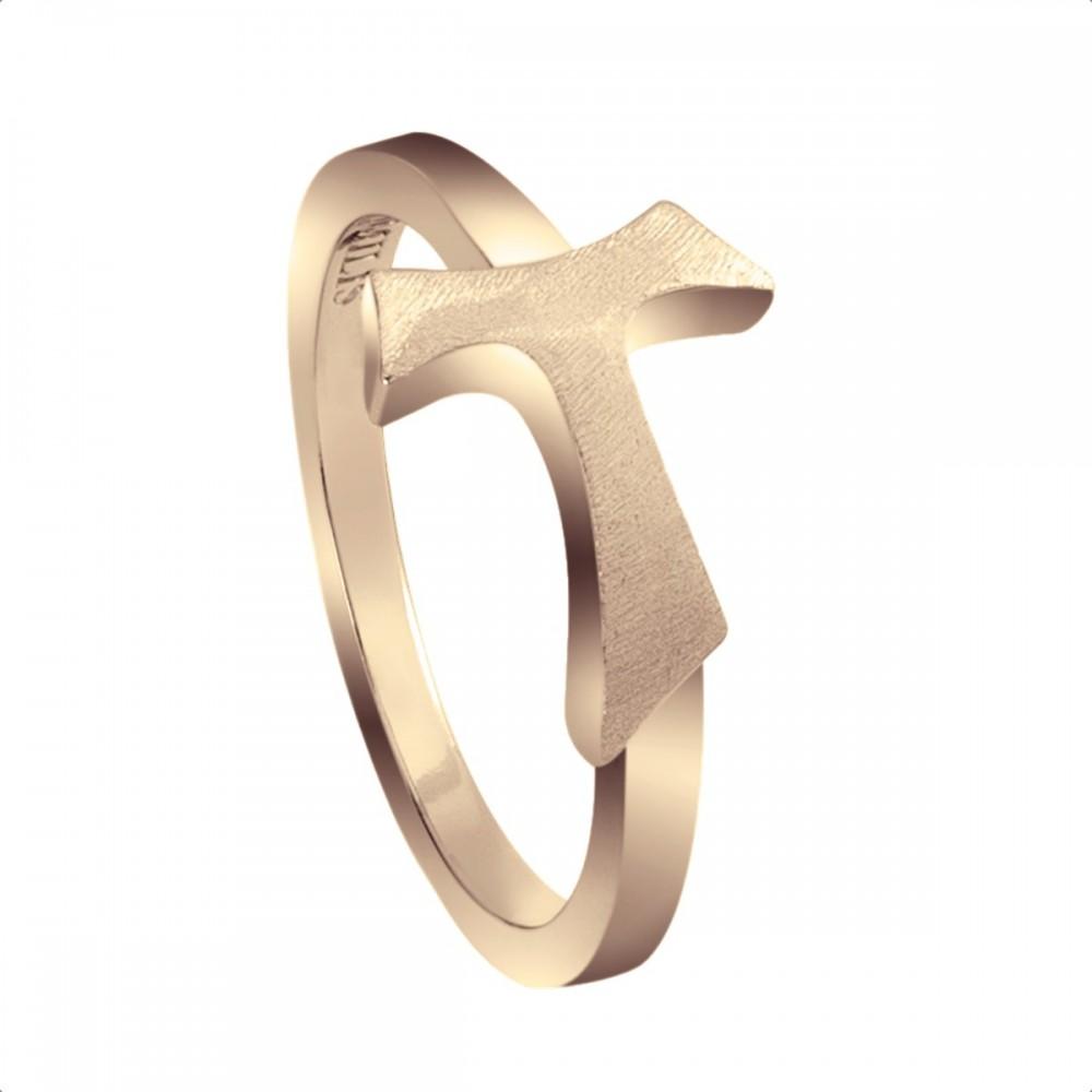 Humilis yellow gold sign ring