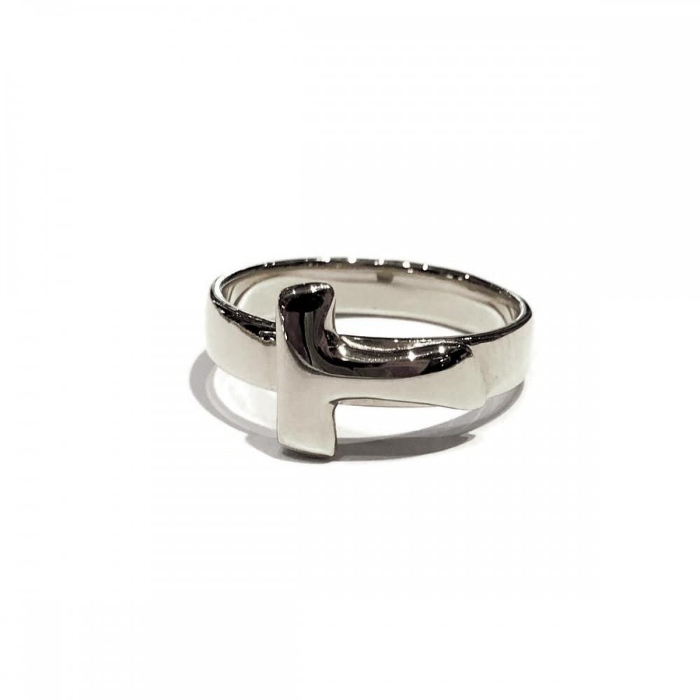 Anello Tau argento 925